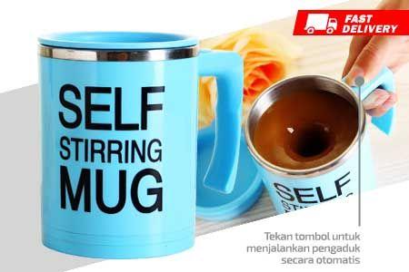 New Model Self Stirring Mug generasi baru asli murah hanya Rp 79.990 http://groupbeli.com/view.php?id=893