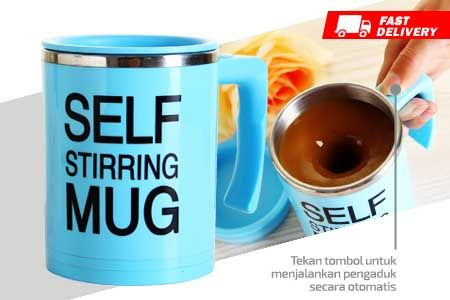 New Model Self Stirring Mug generasi baru asli murah hanya Rp 79.990 http://groupbeli.com/view.php?id=893