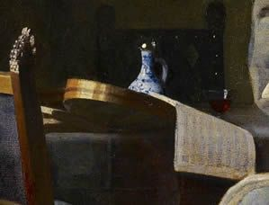 Girl Intterupted in her Music, Johannes Vermeer