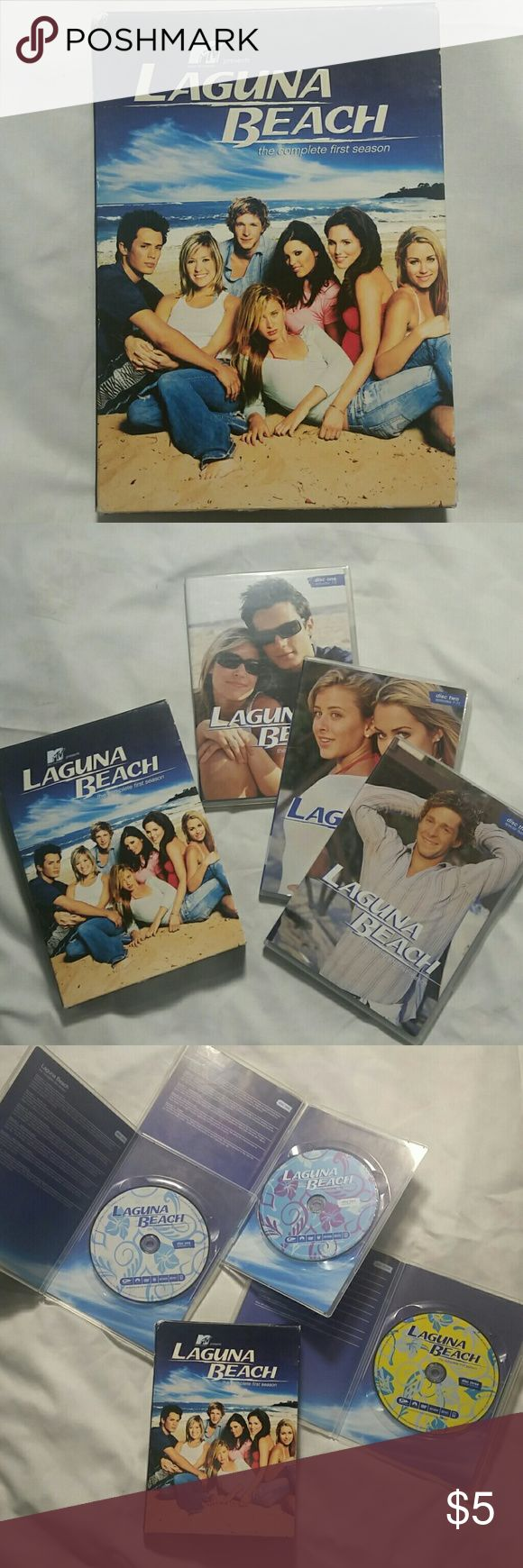 MTV Laguna Beach the complete first season In great condition only watched once or twice Other