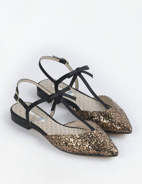 Isabel Bow Point AR689 Flats at Boden