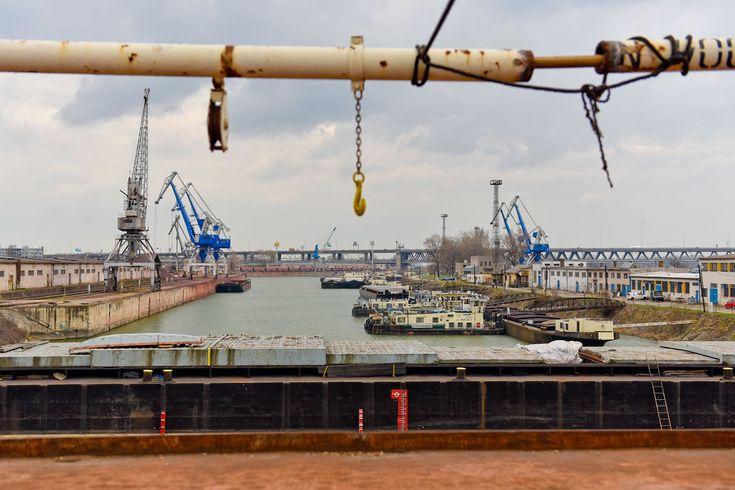 Zimný prístav v Bratislave