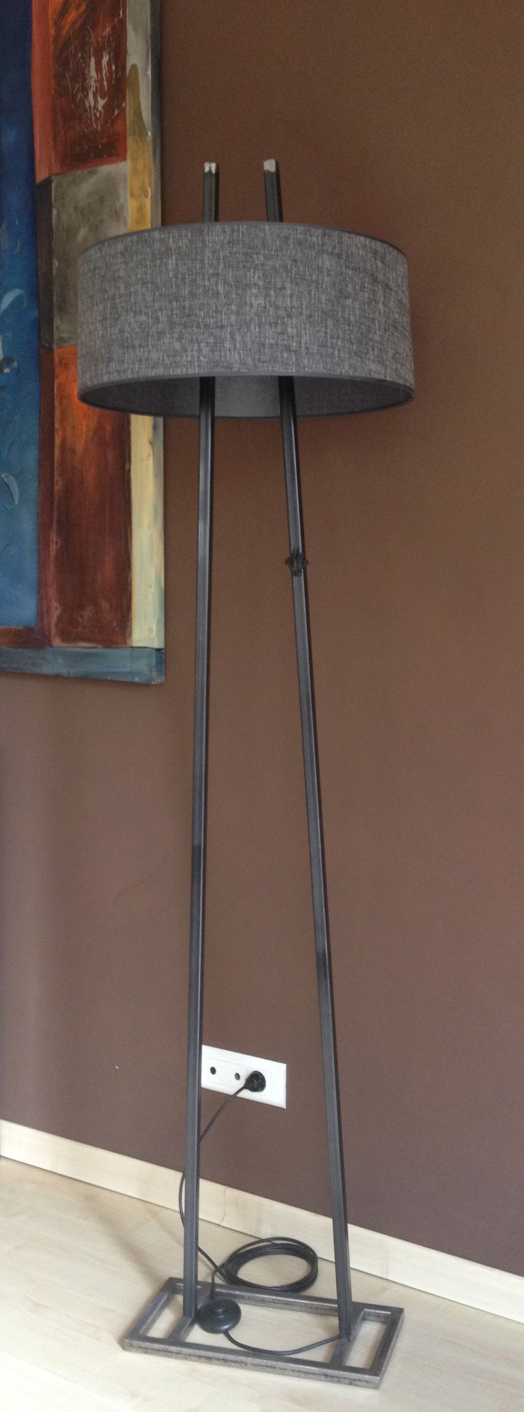 Réalisations | TheFrogCreation Mobilier contemporain, métal, indus, vintage, lampadaire, luminaire, meubles acier, décoration industrielle, artisanat français, made in France, soudures