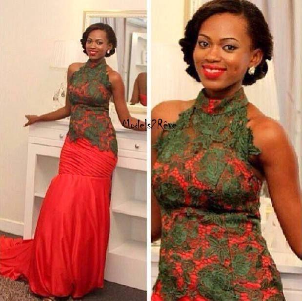 belle robe du soir le pagne africain pinterest belle. Black Bedroom Furniture Sets. Home Design Ideas
