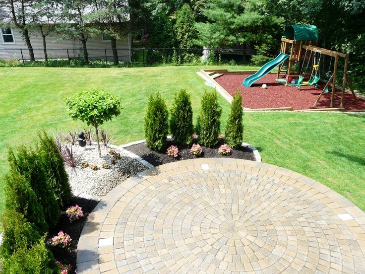 Best 25 landscaping around patio ideas on pinterest for Garden designs with patio