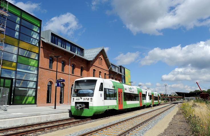 Das Bahnhofsgebäude in Ilmenau. Foto: Ralf Ehrlich