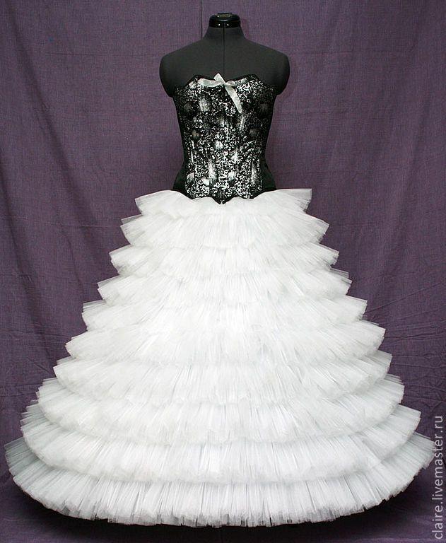 """Купить """"Пена шампанского"""" - Свадебная юбка - свадебная юбка, юбка, пышная юбка, нарядная юбка"""