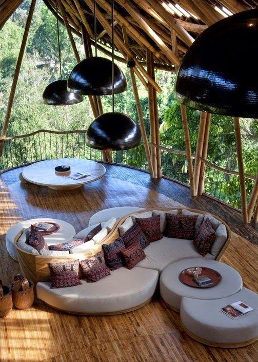 Bamboo Treehouse In Bali -