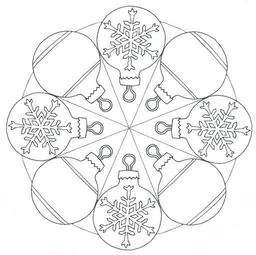 christmas mandala coloring page for kids (1)