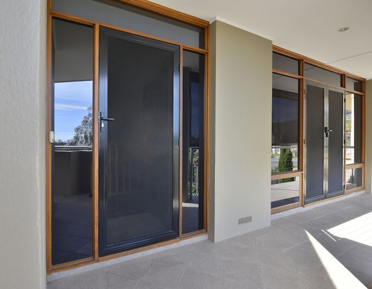 Crimsafe mesh doors act like a fly screen, keeping bug out, and letting the air in but are also super strong, and protect your home against any other unwanted visitors.
