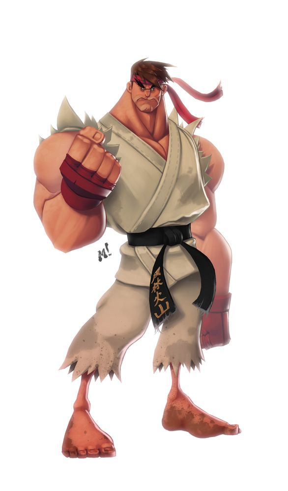 Original Street Fighter: Ryu by *Zatransis on deviantART