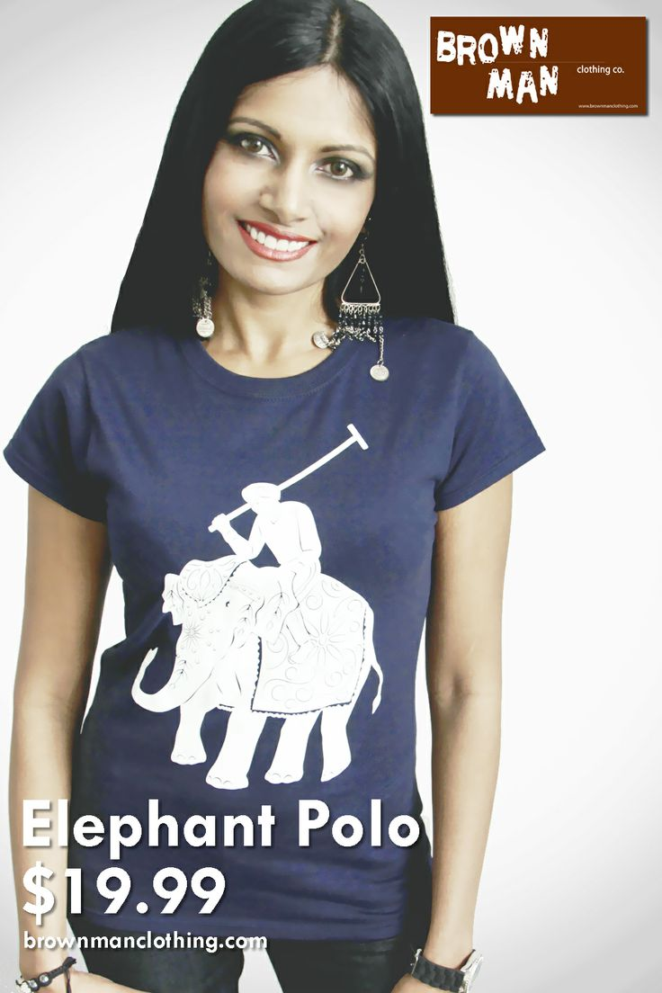 Elephant Polo shirt.