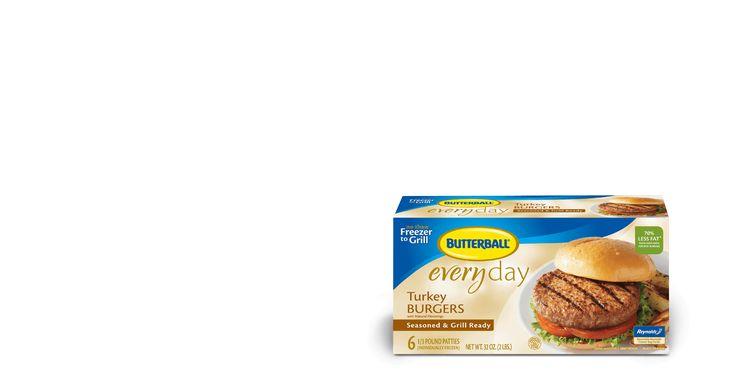 Original Seasoned Frozen Turkey Burgers | Butterball®