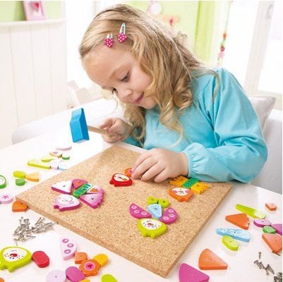A larger Tack Zap set with a sweet Springtime Butterflies theme. Tack Zap (also known as Hammer Tap) sets are ideal for developing a child's...