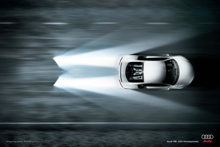 Audi R8. 420 Horsepower.