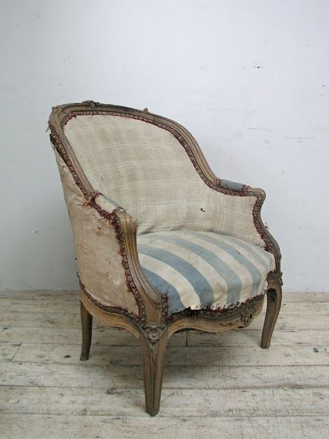 I'm giving this look to all my old upholstered furniture that I'm sick of. This is beautiful to me.