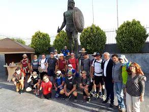 """The 300 of Sparta ""   www.300ofsparta.com  #the300ofsparta #endurancerace #epicmarch #300ofsparta #sparta_thermopylae #sparta #arcadiantrails #ultrarunning #ultrarunners"