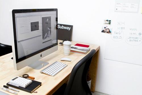 iMac & Desk.