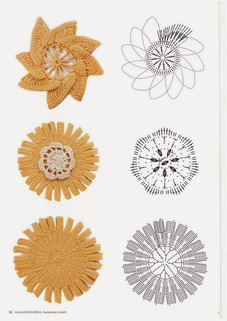 Mejores 325 imágenes de crochet irlandes en Pinterest | Crochet ...