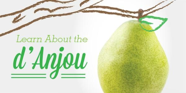 #springforpears and #usapears Variety Spotlight: d'Anjou Pears | Superfresh Growers