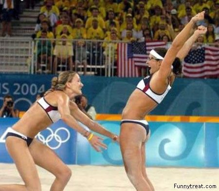 Kerri Walsh Beach Volleyball - view our flight schools at learntofly.co.nz