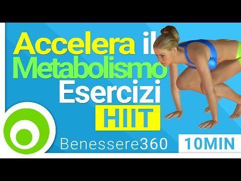 Allenamento Completo per Accelerare il Metabolismo e Bruciare Grassi | Fitness a Casa - YouTube