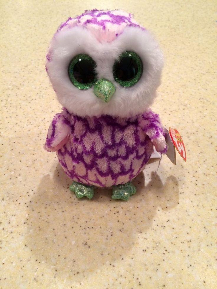 Beanie Boo Owl Birthday Cake