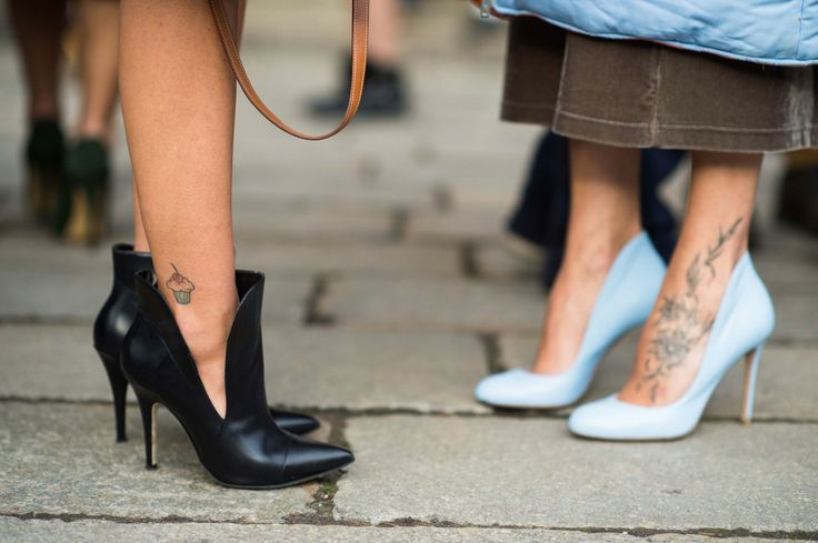 On the Streets of Milan Fashion Week Fall 2014  - Milan Street Style #pumps