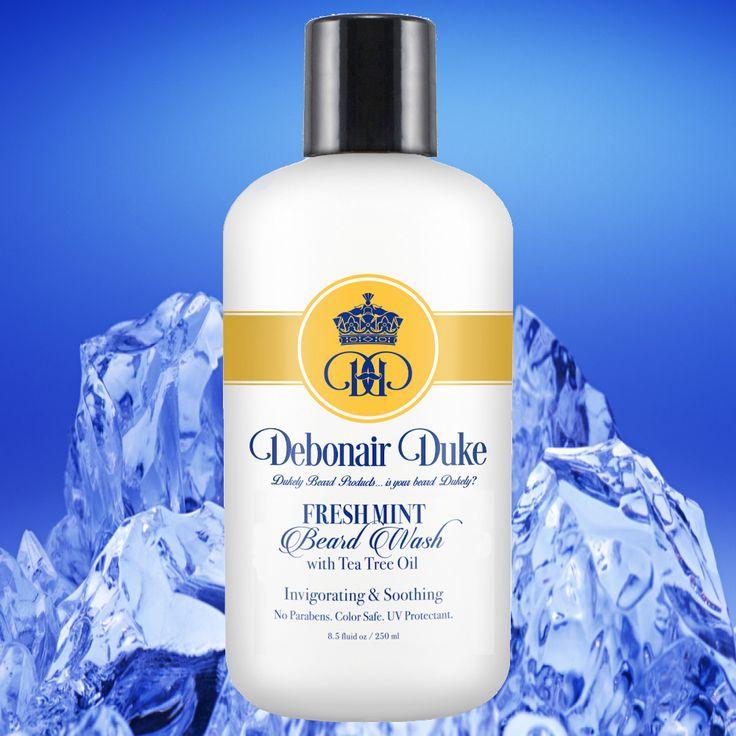 Fresh Mint Beard Wash With Tea Tree Oil   Debonair Duke Beard Co – Debonair Duke