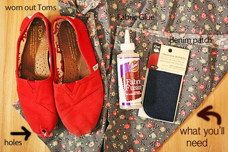 Ramblings From Utopia: DIY: Toms Repair Makeover