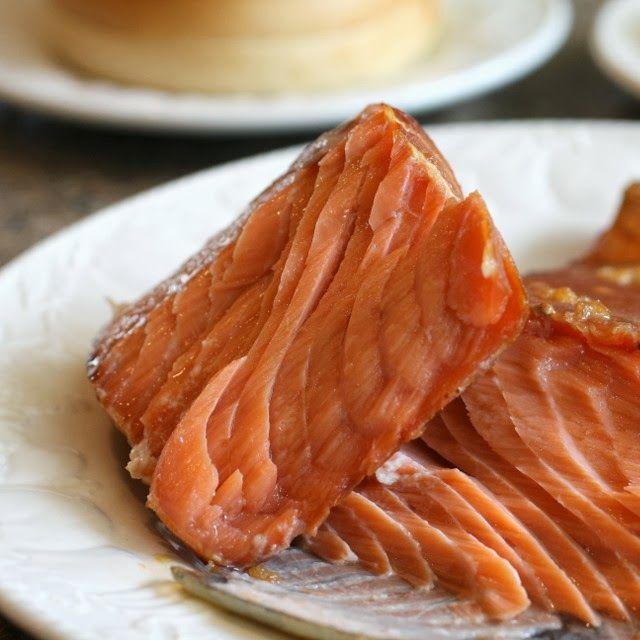 Brown Sugar Brined Smoked Salmon Food Drink Pinterest