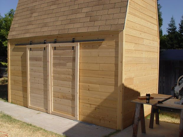 Best 25 shed door hardware ideas on pinterest - How to install an exterior sliding barn door ...