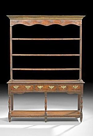 English Stained Pine Welsh Dresser Click On The Image For More Information FurnitureAntique FurnitureWelsh DresserDining Room