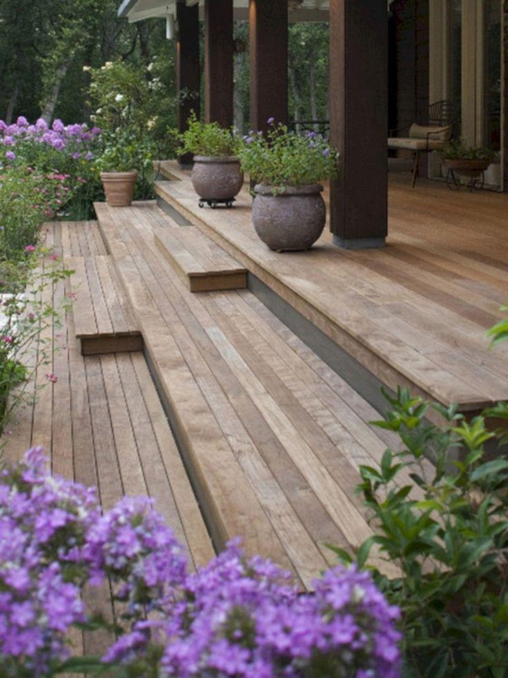 49+ Unbelievable Front Porch With Wooden Ipe Deck Ideas – Familideas