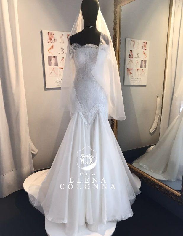 Abiti sposa Napoli. Una nuovo abito da sposa firmato Elena Colonna per una sposa romantica con classe