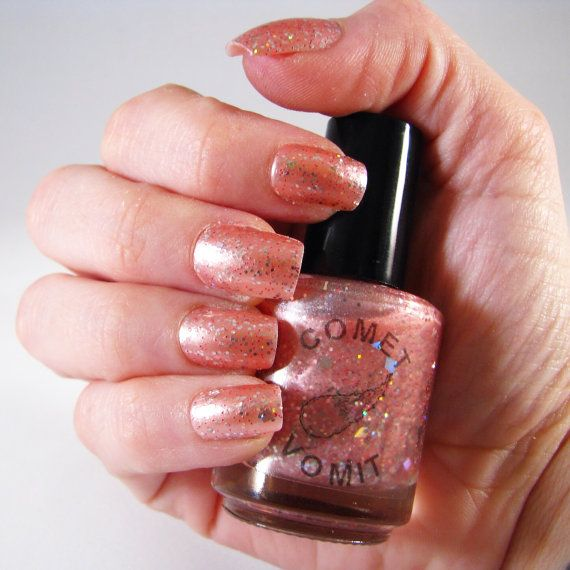 Comet Vomit Hubble Bubble nail polish by GemCityTiffany on Etsy, $10.00
