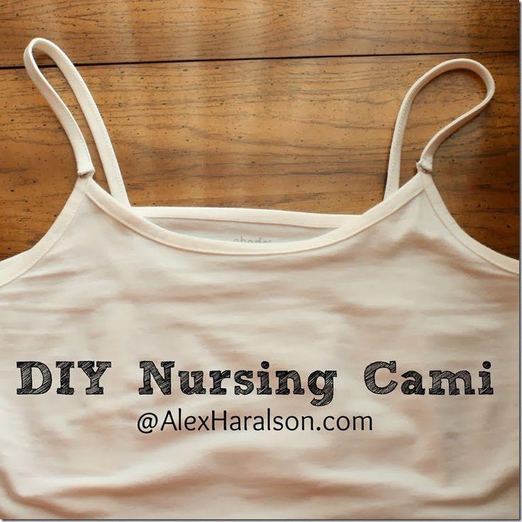 DIY Nursing Cami