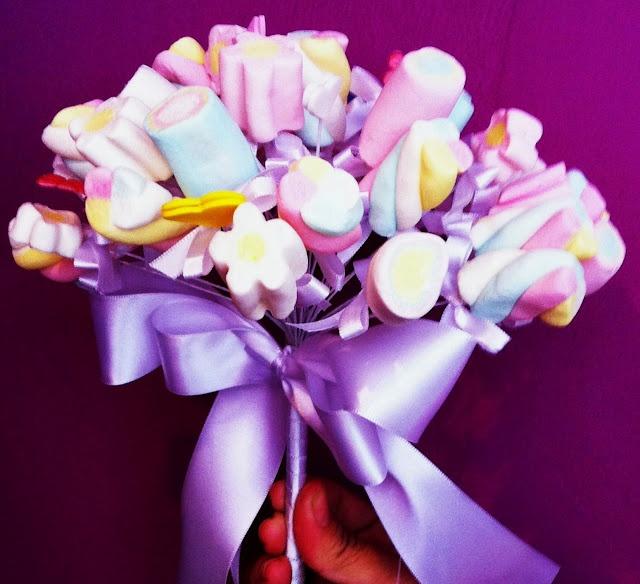 marshmellow bouquet