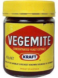jar of Vegemite