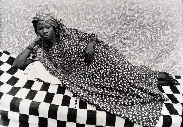 """Untitled [Olympia]"" by Seydou Keïta"
