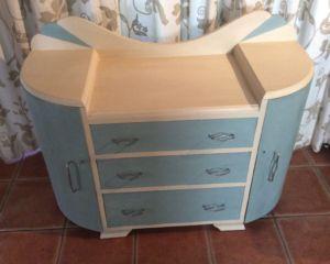Annie Sloan Chalk Paint – Art Deco Cabinet