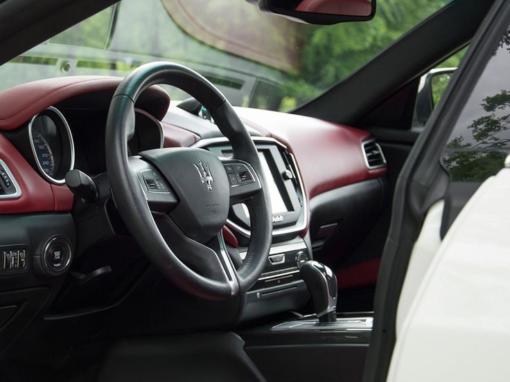 Stunning interior of a 2014 Maserati Ghibli Diesel. Lease a Maserati with Premier Financial Services today. Photo via Classic Driver. #Lease #Maserati #SimpleLease #Diesel