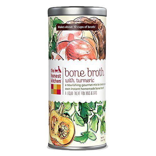 Bone Broth with Turmeric Dogs & Cats, 5-oz jar