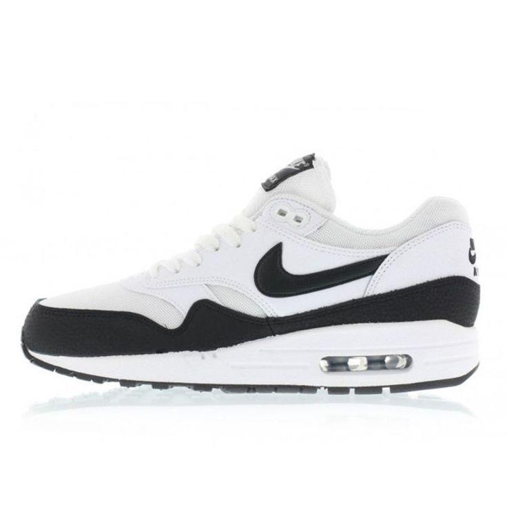 Nike WMNS Air Max 1 Essential (white / black / metallic silver) 599820-