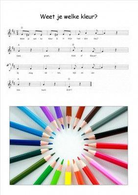 ,KLEUREN - Weet jij welke kleur?-liedje