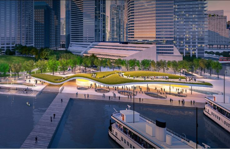 Gallery - 12 Proposals Reimagine Toronto Ferry Terminal and Waterfront Park - 8