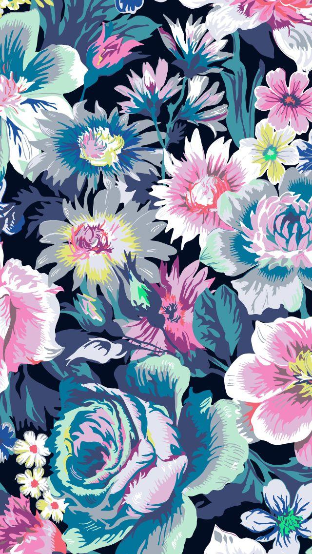 Garden Grove Mobile Wallpaper In 2020 Iphone Wallpaper Vera Bradley Vera Bradley Wallpaper Flower Phone Wallpaper