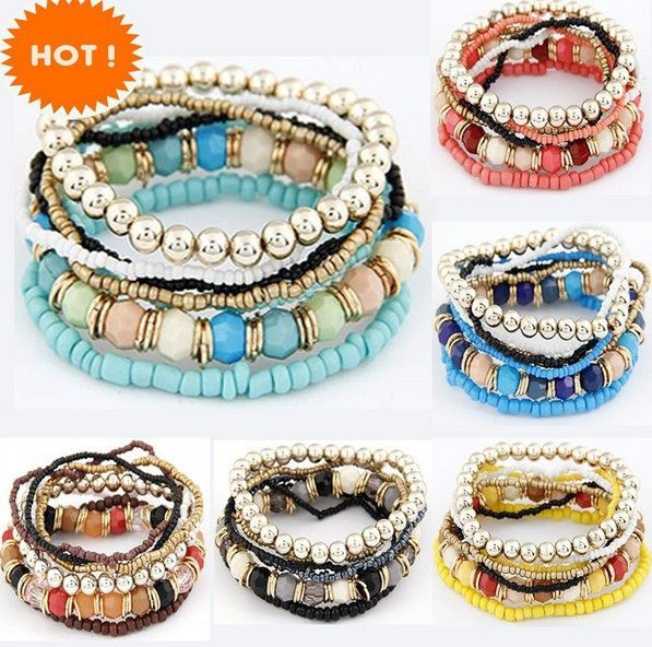 Order Now New Spring Korean... Click here http://shopfromphone.myshopify.com/products/2015-new-spring-korean-designer-fashion-bohemia-bead-bracelet-beaded-multilayer-strand-stretch-bracelets-bangles-for-women-girl-yellow?utm_campaign=social_autopilot&utm_source=pin&utm_medium=pin Place your order now, while everything is still in front of you.