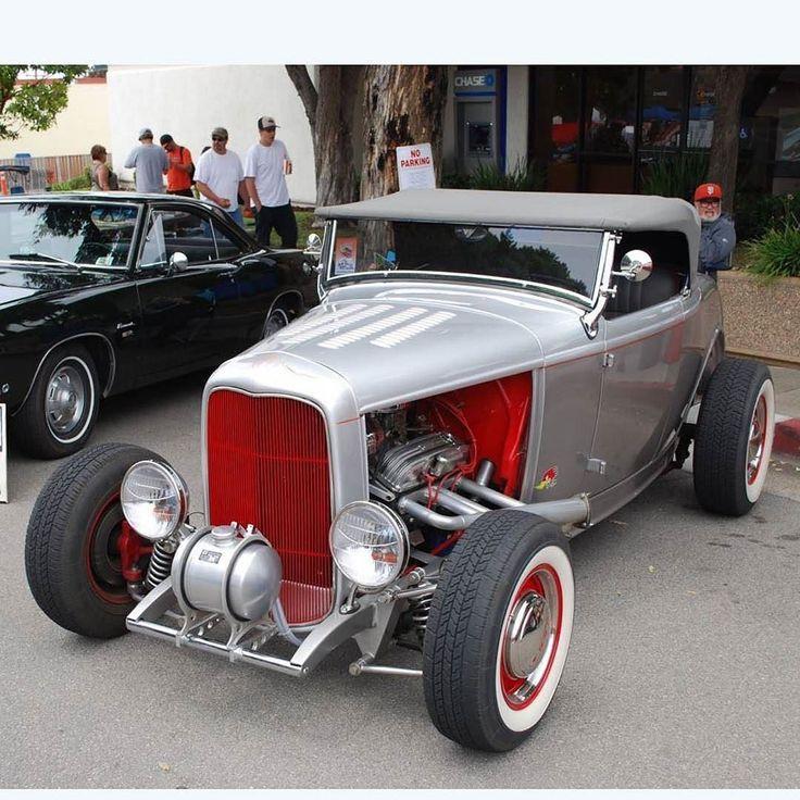 Red Eye #fuel32  @hotrodcoalition  See more on Fuel32.com Click link in bio  #32ford #highboy #deuce #coupe #hamb #ford #1932 #vintagecar #hopuplive #streetrod #hotrod #sema #trog #customcar #5window #nostalgia #3window #roadster #modela #gnrs2017 #traditionalhotrod #roddersjournal #livingthehighboylife #morrobay