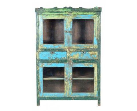Indian Wooden Almirah - Cabinets | Weylandts Australia